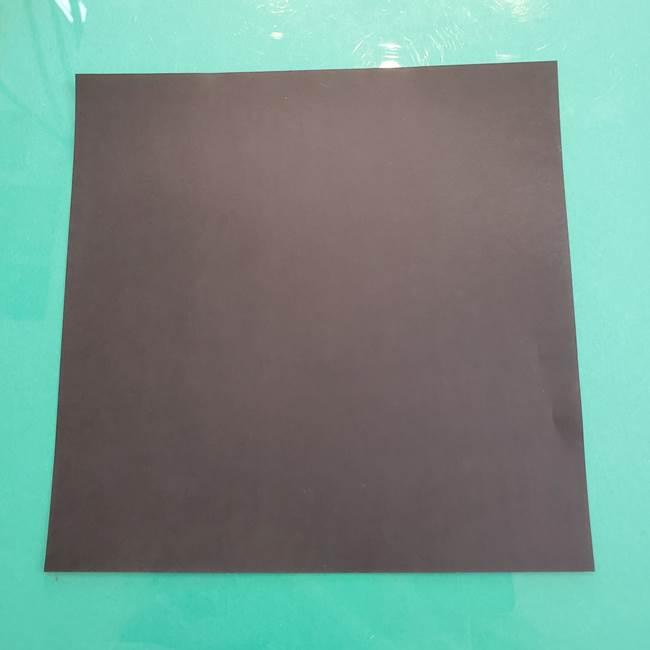 クロミちゃんの折り紙 折り方作り方②顔2(1)