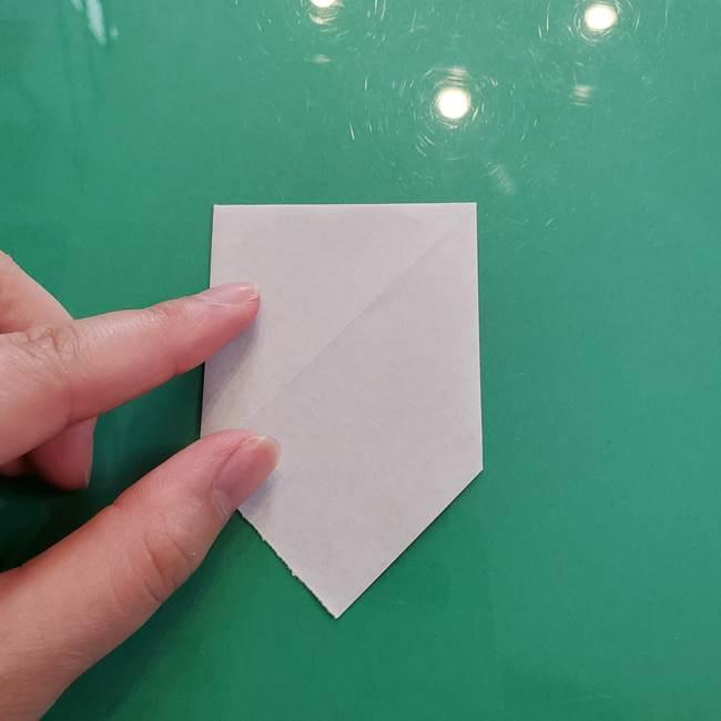 クロミちゃんの折り紙 折り方作り方②顔2(12)