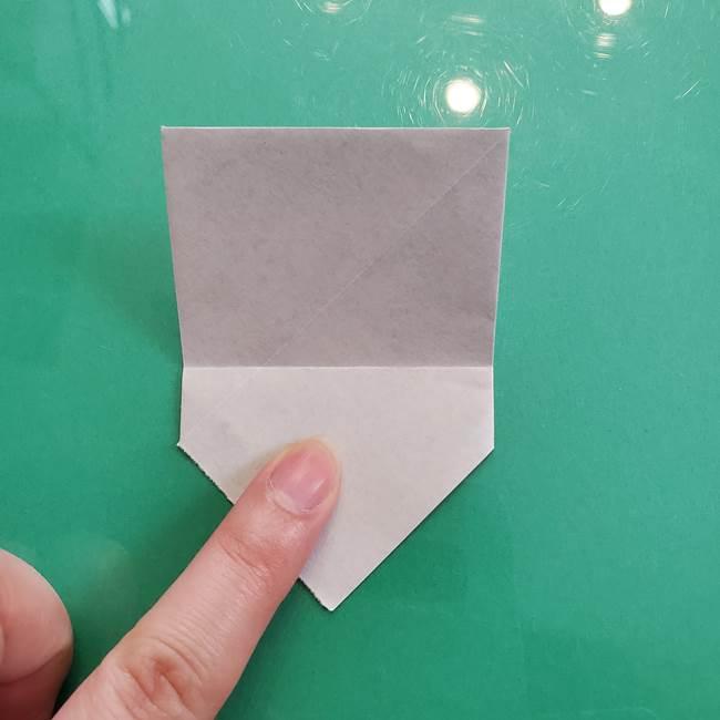 クロミちゃんの折り紙 折り方作り方②顔2(14)