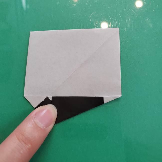 クロミちゃんの折り紙 折り方作り方②顔2(17)