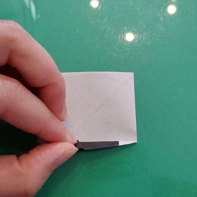 クロミちゃんの折り紙 折り方作り方②顔2(19)
