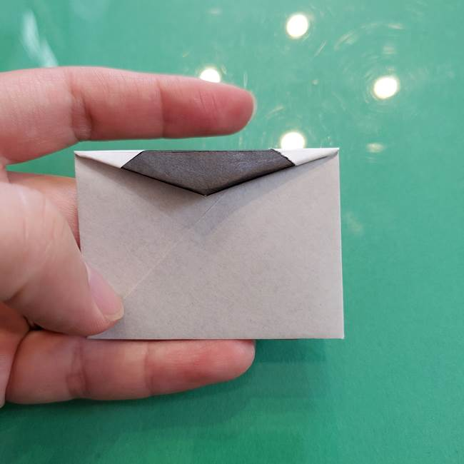 クロミちゃんの折り紙 折り方作り方②顔2(21)