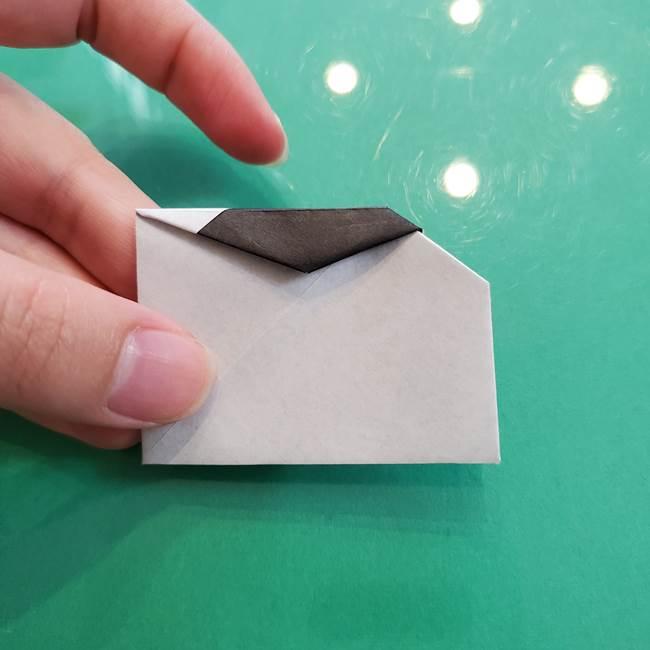 クロミちゃんの折り紙 折り方作り方②顔2(22)