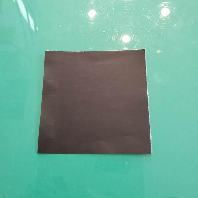 クロミちゃんの折り紙 折り方作り方②顔2(7)