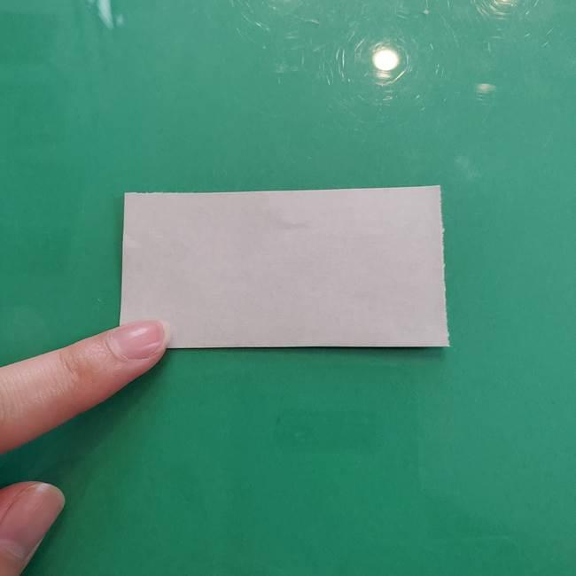 クロミちゃんの折り紙 折り方作り方②顔2(8)