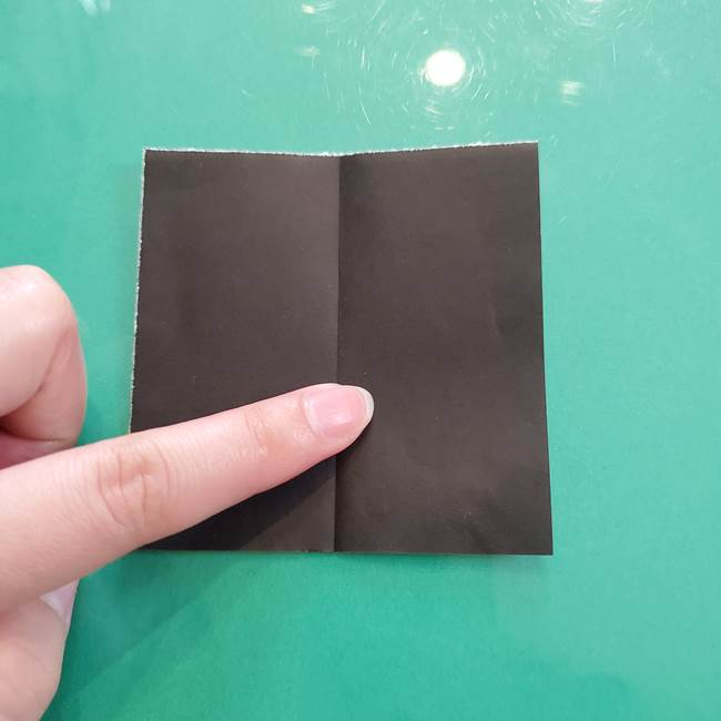 クロミちゃんの折り紙 折り方作り方②顔2(9)