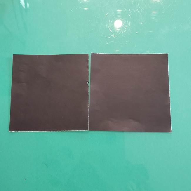 クロミちゃんの折り紙 折り方作り方③耳(1)