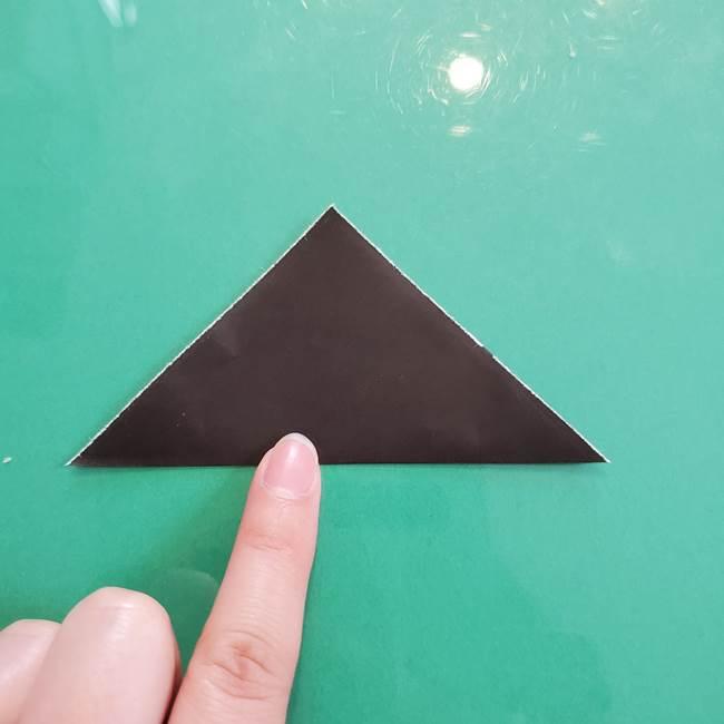 クロミちゃんの折り紙 折り方作り方③耳(2)