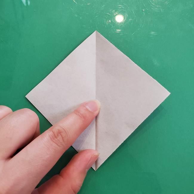 クロミちゃんの折り紙 折り方作り方③耳(3)