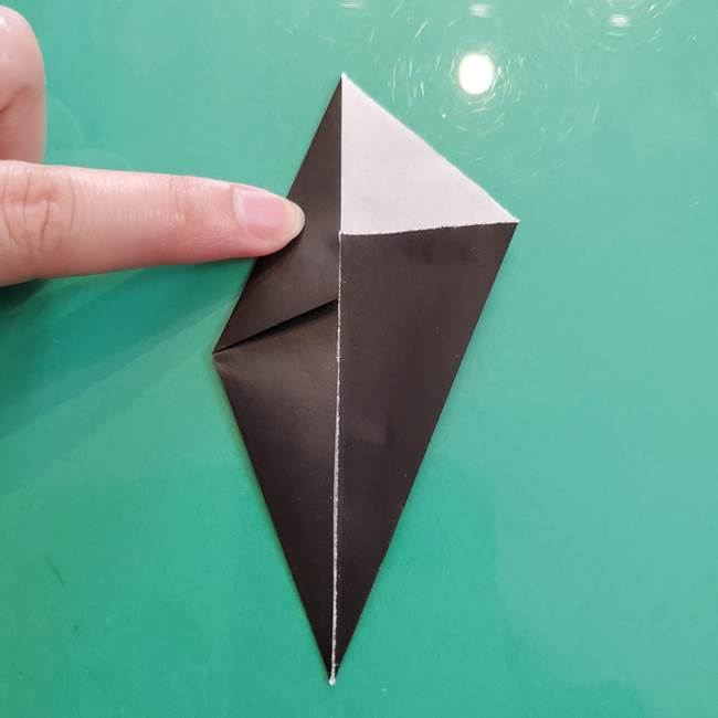 クロミちゃんの折り紙 折り方作り方③耳(5)