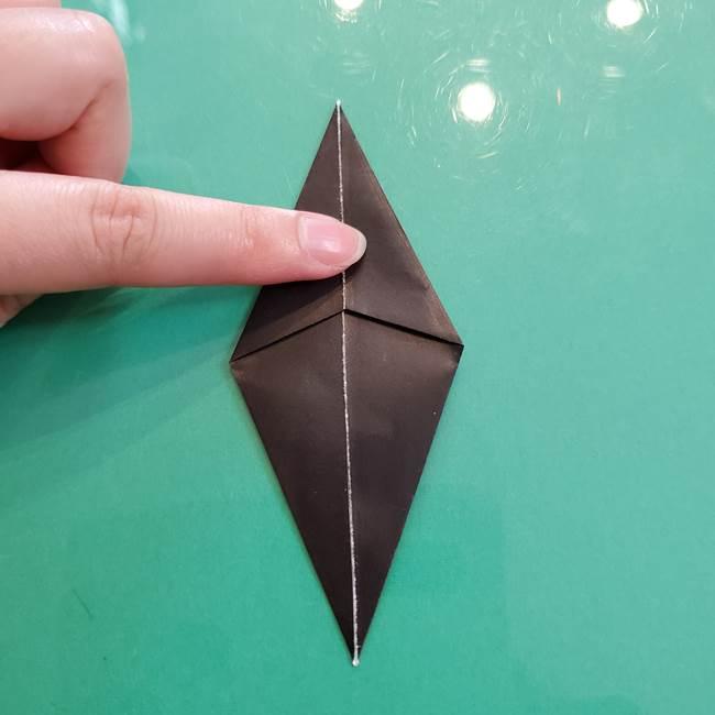クロミちゃんの折り紙 折り方作り方③耳(6)