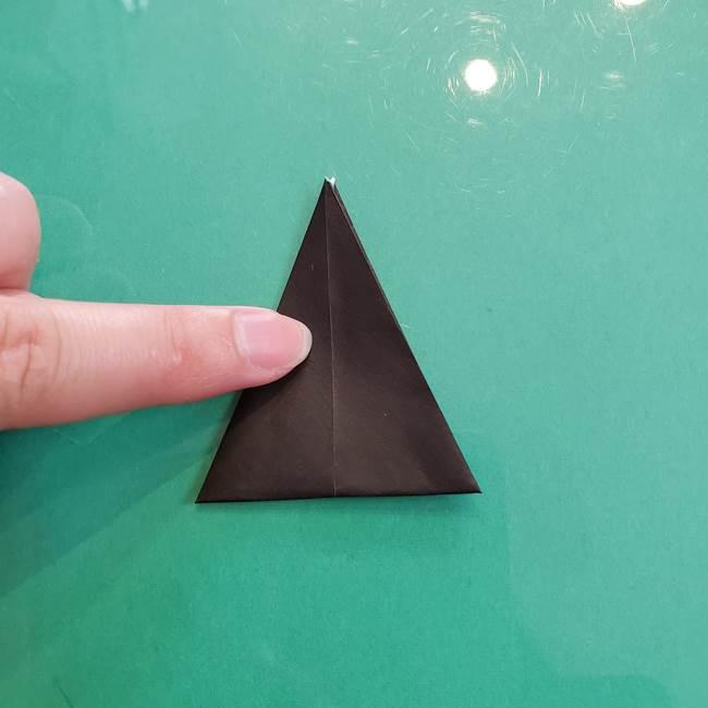 クロミちゃんの折り紙 折り方作り方③耳(7)