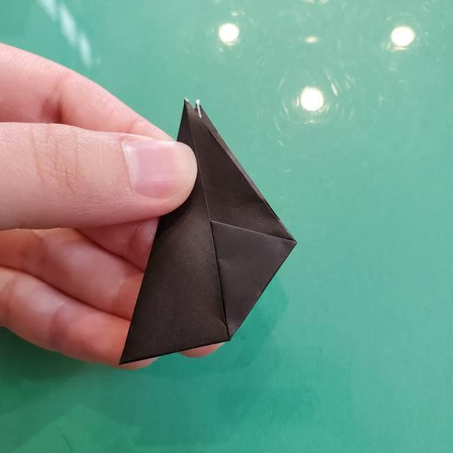 クロミちゃんの折り紙 折り方作り方③耳(8)