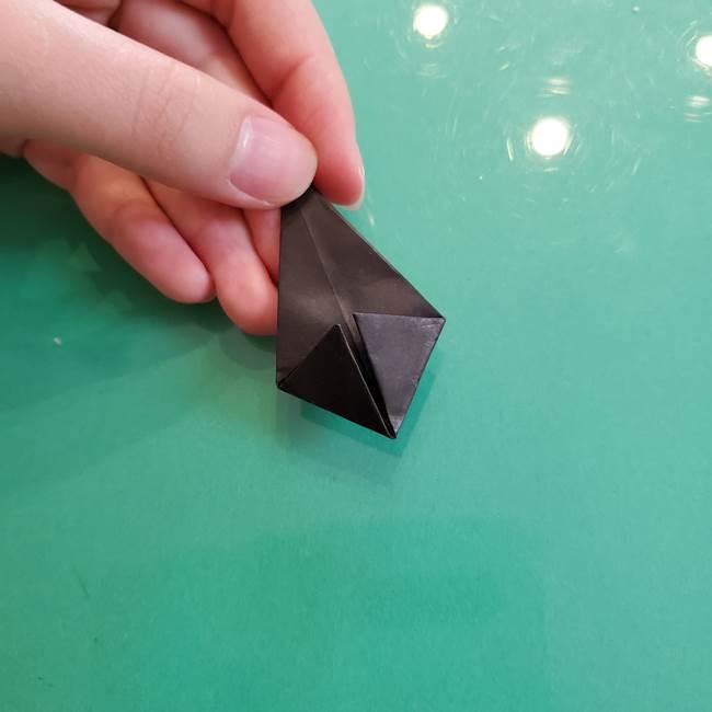 クロミちゃんの折り紙 折り方作り方③耳(9)