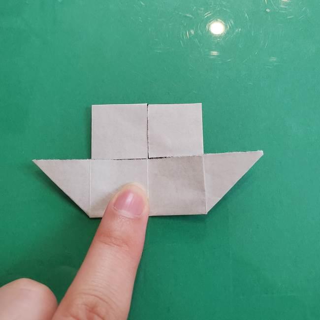 クロミちゃんの折り紙 折り方作り方④体(17)