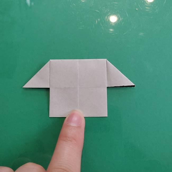 クロミちゃんの折り紙 折り方作り方④体(18)