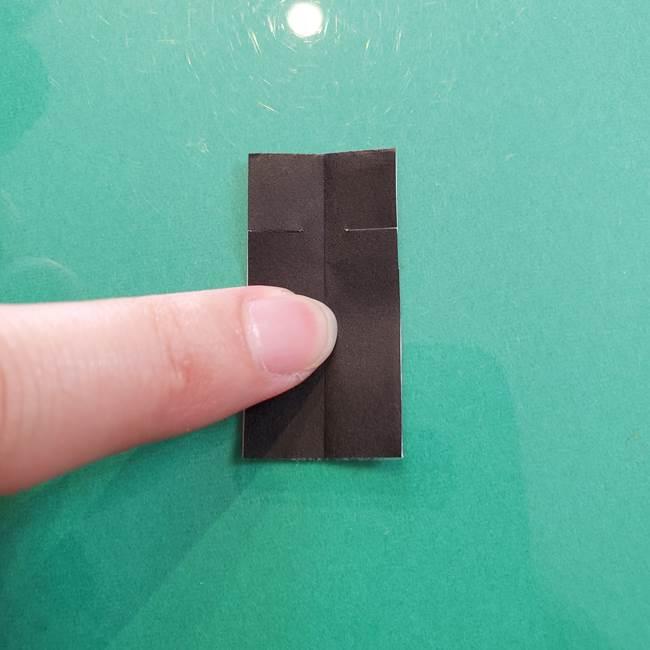クロミちゃんの折り紙 折り方作り方⑤しっぽ(6)