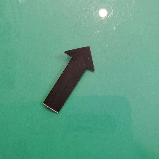 クロミちゃんの折り紙 折り方作り方⑤しっぽ(9)