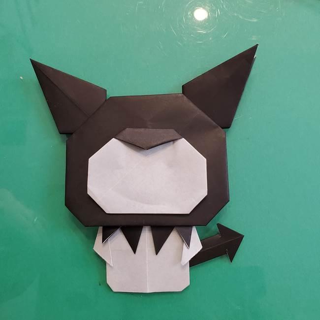クロミちゃんの折り紙 折り方作り方⑥完成(13)
