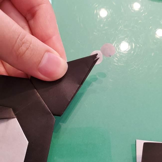 クロミちゃんの折り紙 折り方作り方⑥完成(18)