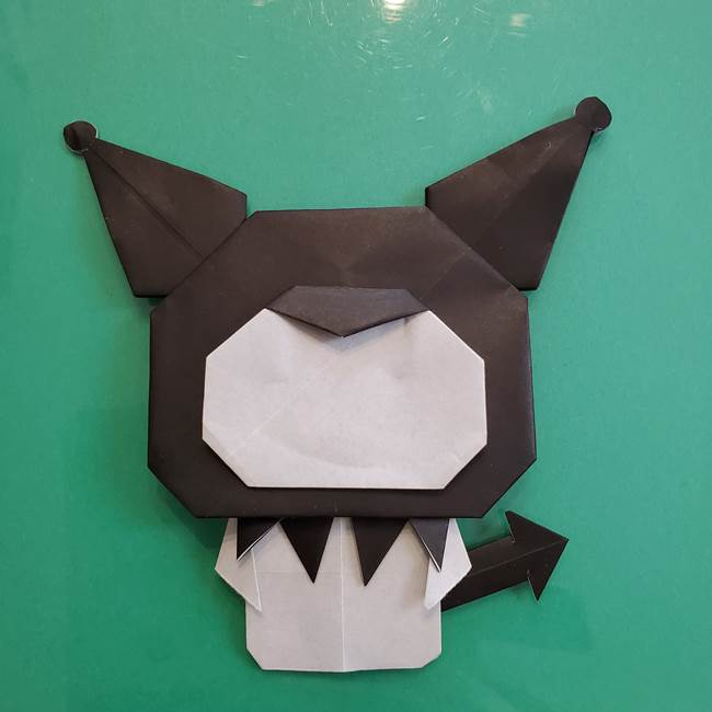 クロミちゃんの折り紙 折り方作り方⑥完成(19)