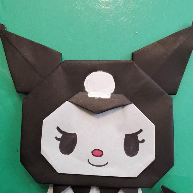 クロミちゃんの折り紙 折り方作り方⑥完成(21)