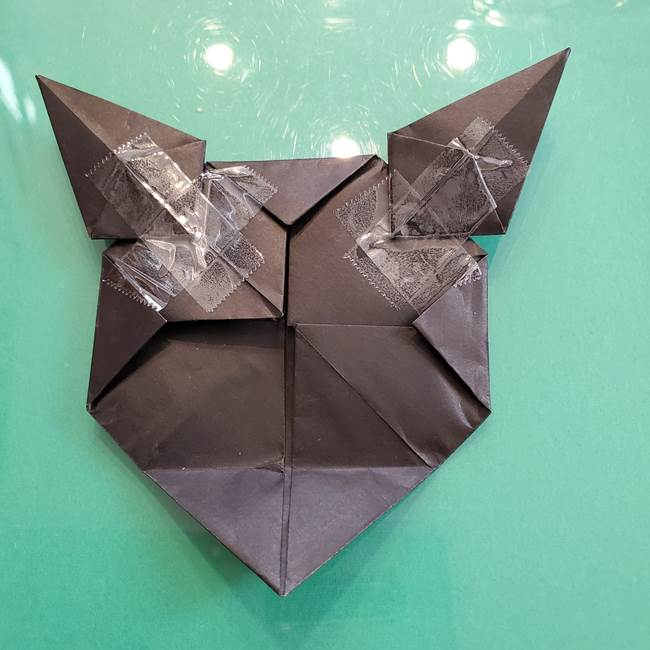 クロミちゃんの折り紙 折り方作り方⑥完成(5)