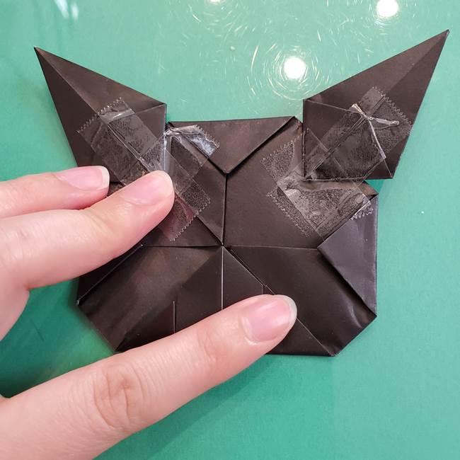 クロミちゃんの折り紙 折り方作り方⑥完成(7)
