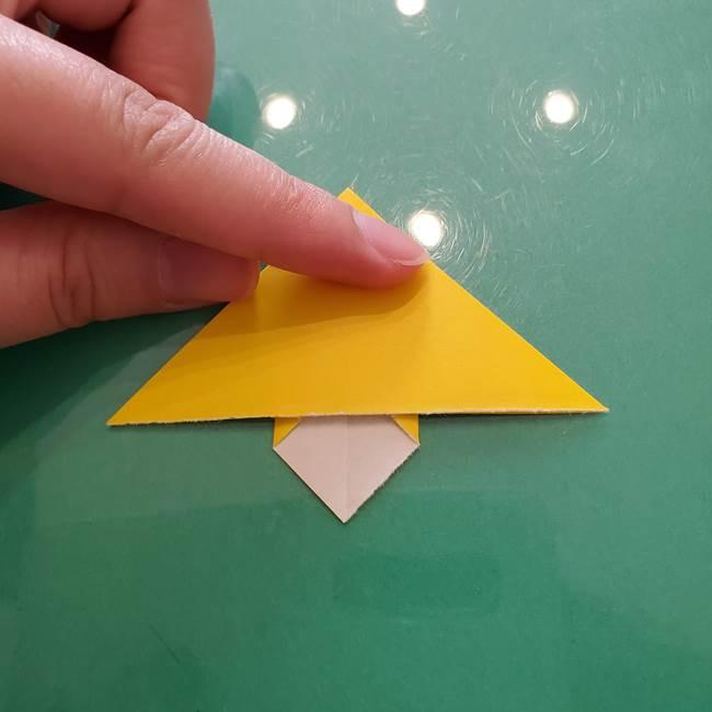 コスモス①8枚の折り紙パーツをつくる(13)