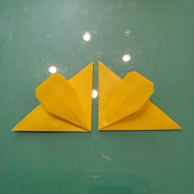 コスモス②折り紙を8枚組み合わせる(1)