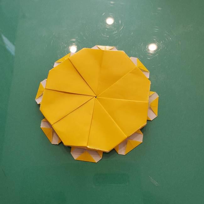 コスモス②折り紙を8枚組み合わせる(11)