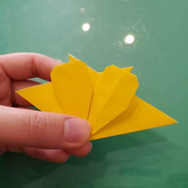 コスモス②折り紙を8枚組み合わせる(3)