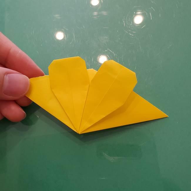 コスモス②折り紙を8枚組み合わせる(8)