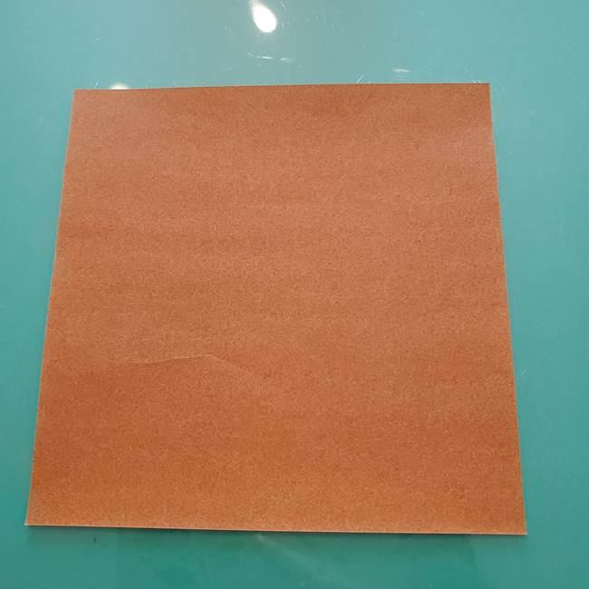 セミの折り紙製作*用意するもの