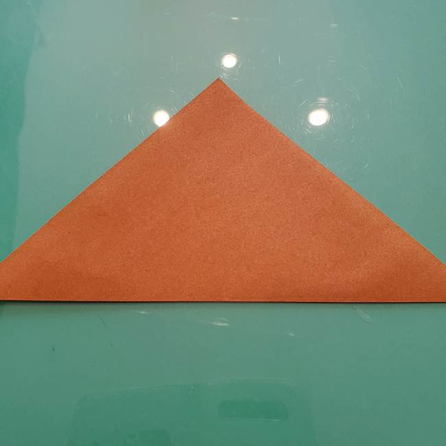 セミの折り紙製作|3歳からOKな折り方作り方(2)