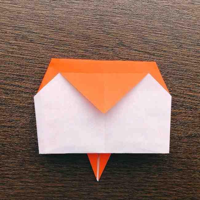 ドキンちゃんの折り紙(顔) 折り方作り方 (10)