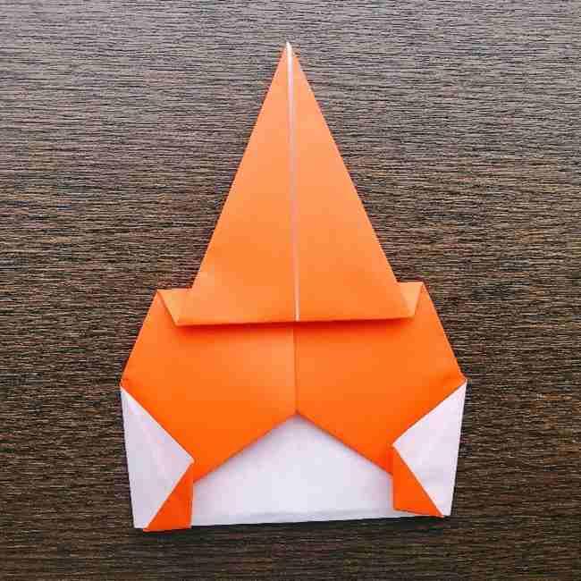 ドキンちゃんの折り紙(顔) 折り方作り方 (11)