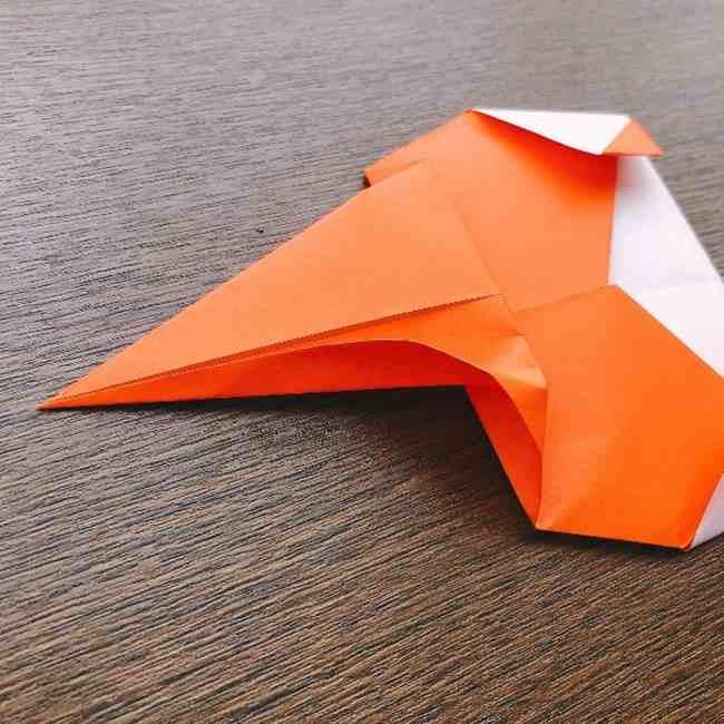 ドキンちゃんの折り紙(顔) 折り方作り方 (12)