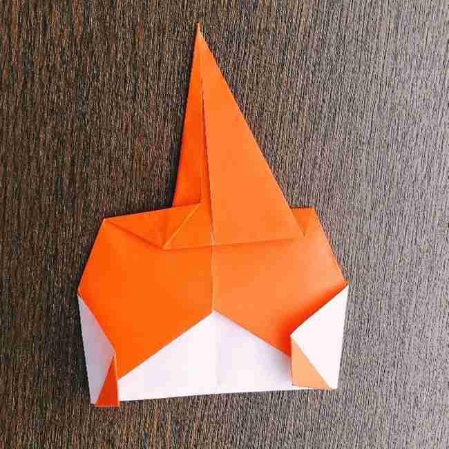 ドキンちゃんの折り紙(顔) 折り方作り方 (13)