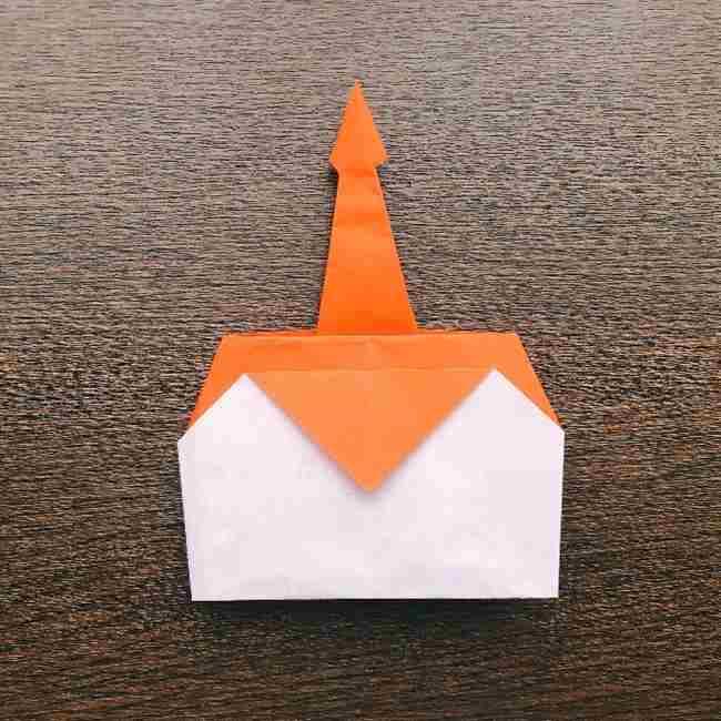 ドキンちゃんの折り紙(顔) 折り方作り方 (16)