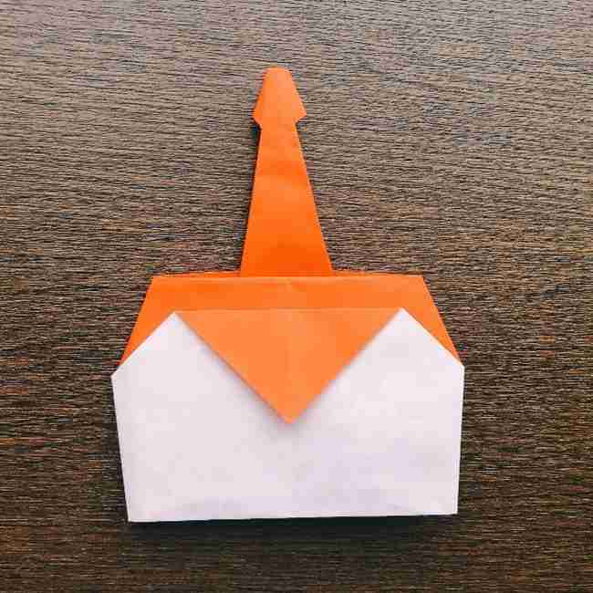 ドキンちゃんの折り紙(顔) 折り方作り方 (17)