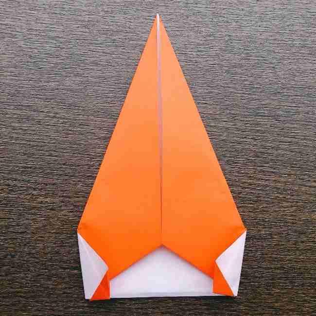 ドキンちゃんの折り紙(顔) 折り方作り方 (9)
