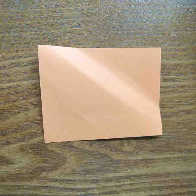 ハロウィン仕様のホラーマンの折り紙☆帽子の折り方 (3)
