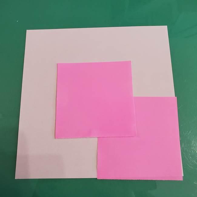 プリキュアくるるんの折り紙*用意するもの1