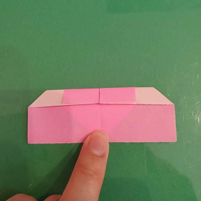 プリキュアくるるん 折り紙の折り方作り方【トロピカルージュ】①耳(10)