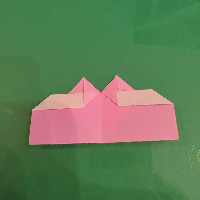 プリキュアくるるん 折り紙の折り方作り方【トロピカルージュ】①耳(13)