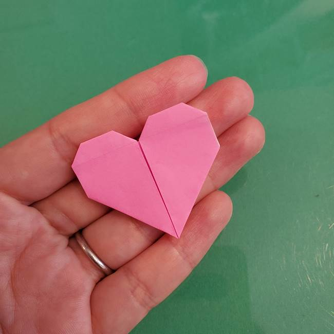 プリキュアくるるん 折り紙の折り方作り方【トロピカルージュ】①耳(17)