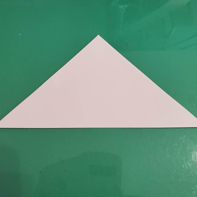 プリキュアくるるん 折り紙の折り方作り方【トロピカルージュ】②顔(2)