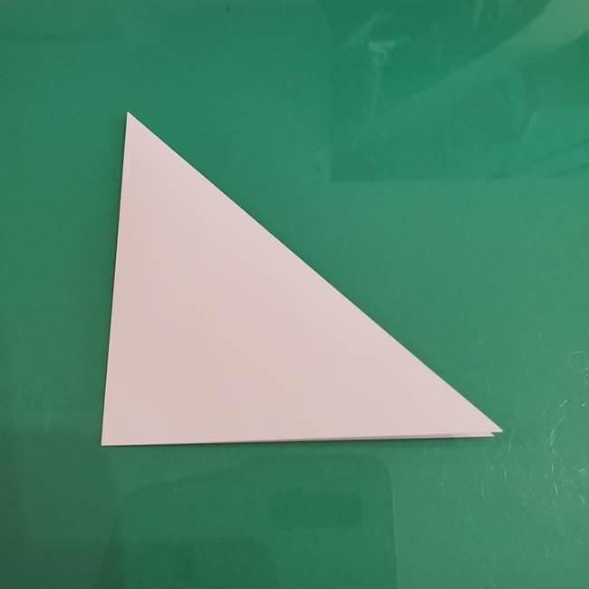 プリキュアくるるん 折り紙の折り方作り方【トロピカルージュ】②顔(3)
