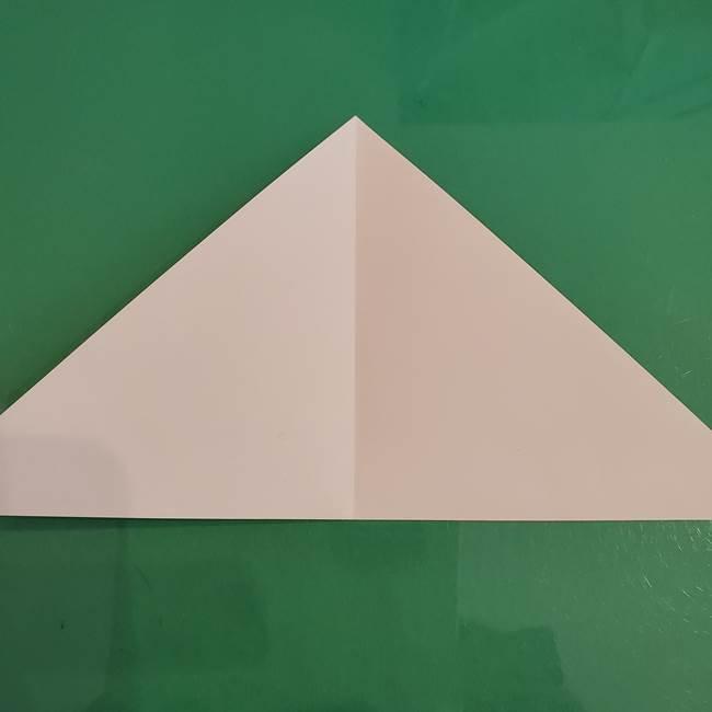 プリキュアくるるん 折り紙の折り方作り方【トロピカルージュ】②顔(4)